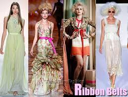 ribbon belts 2012 new york fashion week trends ribbon belts