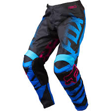 fox motocross clothes new fox racing ladies mx gear blue red bmx dirt bike womens
