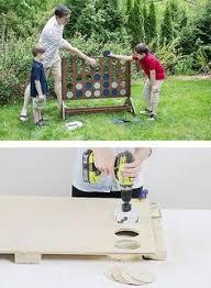 Diy Backyard Games by Diy Backyard Game Four In A Row The Home Depot Backyard Yard