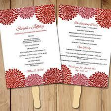 fall wedding programs best wedding ceremony program templates products on wanelo