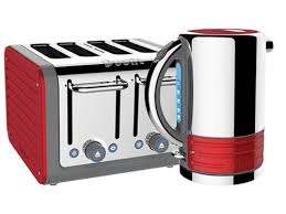 Red Kettle And Toaster Toasters Kettles Food Processor Coffee Kitchen Appliances And