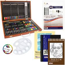 amazon com us art supply 82 piece deluxe art creativity set in