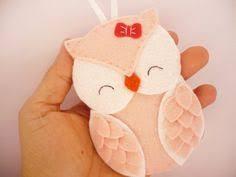 personalized owl ornament felt owl ornament felt by ynelcas