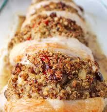 cranberry walnut quinoa stuffed pork chops tastefulventure