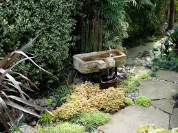 Garden Sink Ideas 9 Wondrous Water Features For Small Backyards Huffpost