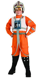 boys kids halloween costumes star wars x wing fighter pilot child costume buycostumes com