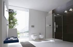 Bathroom White Porcelain Flooring Stainless by Small Bathroom Design Grey Marble Table Counter Top Dark Wooden