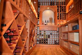 residential custom wine cellar construction project