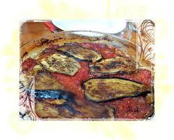 cuisiner des aubergines facile recette d aubergines bicolores à la sauce tomate