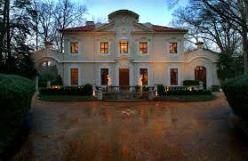 Italian Style Houses Pink Palace Re Priced To Sell Historic Buckhead Home Slashed From