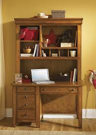 Student Desk With Hutch Cabin Youth Student Desk Hutch In Aged Oak Finish By Liberty