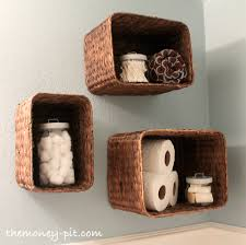 turning baskets into shelves the kim six fix