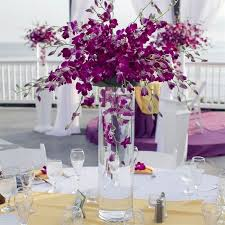 Purple Centerpieces 174 Best Centre Pieces Purple Theme Images On Pinterest