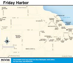 Washington State Ferries Map by Printable Travel Maps Of Washington State Moon Travel Guides