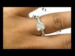 2 carat cushion cut engagement ring 2 carat cushion cut engagement ring in 3 row pave band