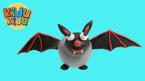 friendly halloween ghost bat play doh modeling youtube