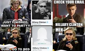 Hillary Clinton Texting Meme - hillary clinton removes photo that inspired texts from hillary