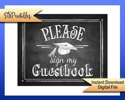 graduation guest book 2017 graduation guestbook sign sign my guestbook graduation sign