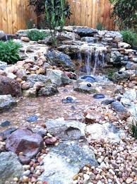 Backyard Pond Ideas With Waterfall Outdoor Waterfall Ponds Garden Water Ponds Kits Waterfalls For