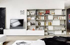 Librerie Bifacciali Ikea by Pareti Libreria Cheap Libreria Armobil Laccato Opaco Bianco E
