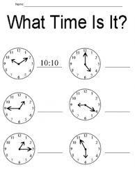 telling time worksheets printable worksheets