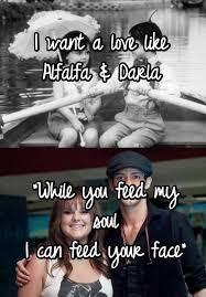 Alfalfa Meme - i want a love like alfalfa darla while you feed my soul i can