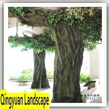indoor artificial banyan tree large decorative trees for sale