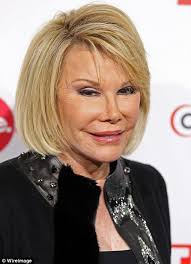 clip snip hair styles comedian joan rivers gets a snip and tuck daily mail online