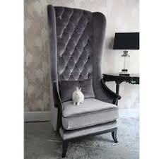 high back bedroom chair baroque high back chair salons living rooms and room
