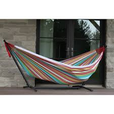Free Standing Hammock Walmart by Vivere Double Hammock With Stand Combo Oasis Walmart Com
