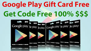 free play store gift cards play gift code no survey verification