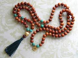 tassel necklace beads images Make a tassel necklace with prayer beads rings and things jpg