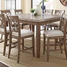 steve silver dining room furniture steve silver franco marble top counter table hayneedle