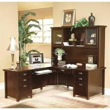 Executive Desk With Hutch L Shaped Executive Desk Hutch