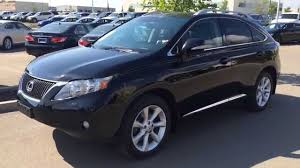 lexus rx 350 price car pre owned black on black 2010 lexus rx 350 awd touring review