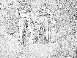 Coloriage Rand Iroise 263 à imprimer pour les enfants  Dessin Sport Vtt
