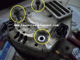 life with machine diy replace perodua kancil alternator carbon brush