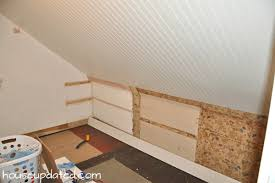 Install Wainscoting Over Drywall Diy How To Install Beadboard On Walls And Ceilings House Updated