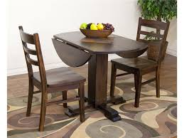 Hokku Designs Dining Set by 3 Pc Cappuccino Dining Set