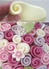 How To Make Sugar Glue Cake Decorating Ribbon Rose Tutorial Rose Cake Rose And Cake