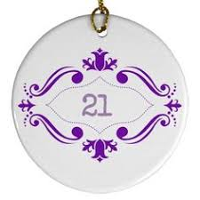 21 ornament 21st birthday ornament and 21st