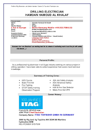 rig electrician resume professional rig electrician templates to