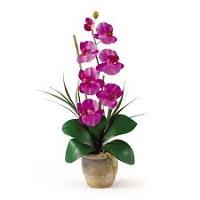 silk flower single stem phalaenopsis orchid silk flower arrangement silk