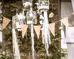 guirlande fanion mariage banderole fanion jute naturel 3m 4 95 mariage tendance