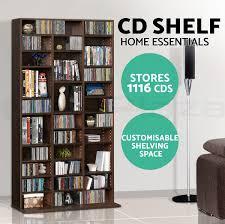 528 dvd 1116 cd storage shelf rack stand cupboard book unit