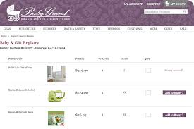 online gift registry gift registry online gift registry for baby gifts via custom