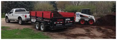 Bulk Landscape Materials by Mulch Rock U0026 Topsoil Delivery In Bloomington Normal Il Gudeman