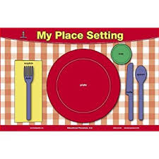 table setting placemat doodle placemat to go kids color your own placemat