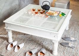 wood square glass top coffee table homefurniture org white with