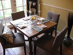 dining room table setting ideas modern place setting on antique pine table ii eclectic